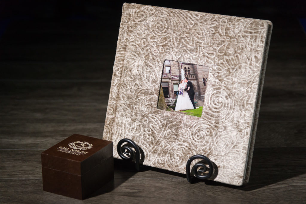 custom wedding album milwaukee photographer care and maintenance storage